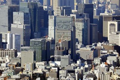 日本橋・丸の内の超高層ビル群