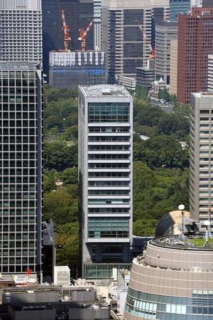 東京タワーから見た旧長銀ビル