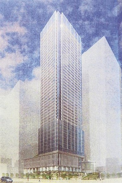 浜松町二丁目C地区再開発市街地再開発事業 完成予想図