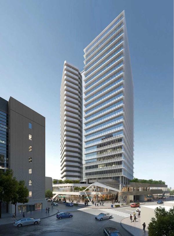大宮駅西口第3-A・D地区第一種市街地再開発事業 完成予想イメージ