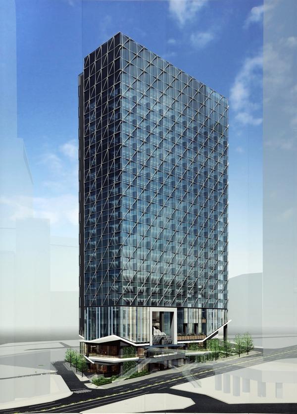 渋谷二丁目17地区第一種市街地再開発事業 完成予想図