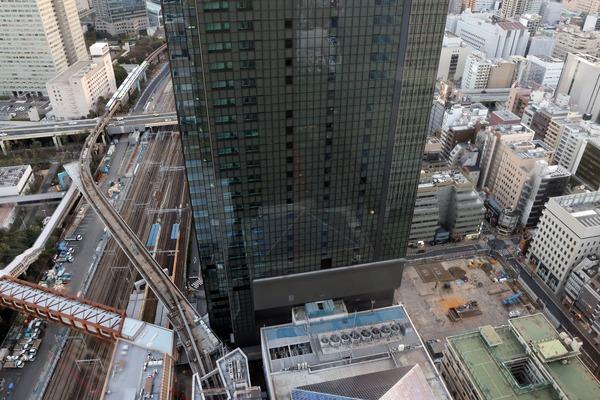世界貿易センタービルから見た南館