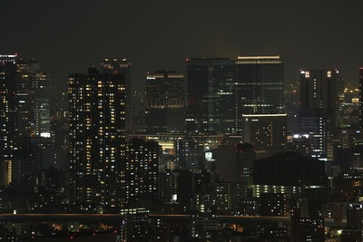 ホテル大阪ベイタワーからの夜景