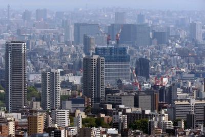 サンシャイン60から見た(仮称)東上野二丁目計画