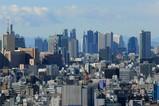 浅草方面から東京モード学園コクーンタワー