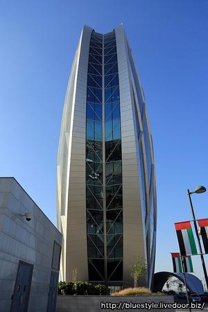 アブダビの丸いビル(Aldar Headquarters)