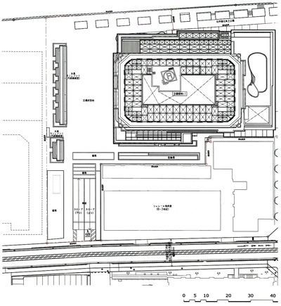 アパホテル&リゾート〈横浜ベイタワー〉 配置図