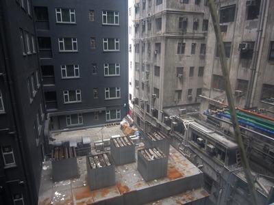 チョンキンマンションからの眺め