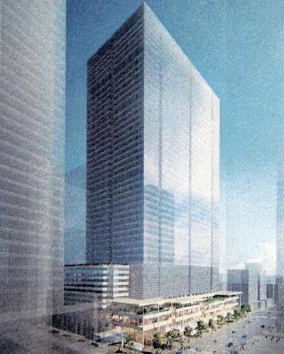 八重洲二丁目中地区第一種市街地再開発事業 完成予想図