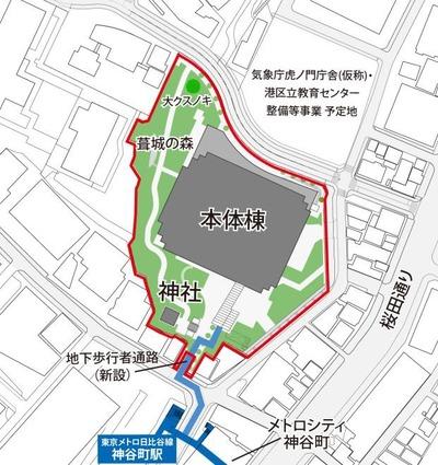 東京ワールドゲート 配置図