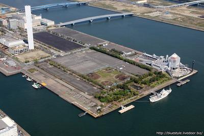 晴海五丁目西地区 2020東京五輪選手村 建設地の空撮