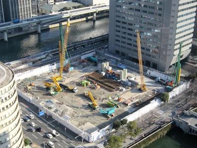 アパホテル<大阪肥後橋駅前>から中之島フェスティバルタワー