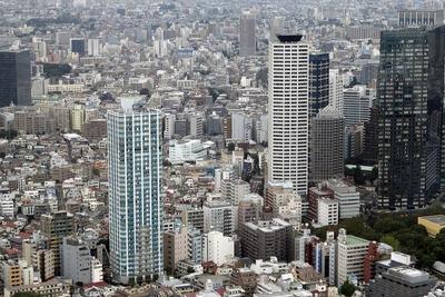 オペラシティから見た西新宿五丁目中央北地区第一種市街地再開発事業