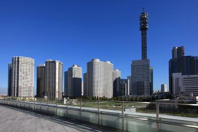 富士ゼロックス R&D スクエアのデッキからの眺め