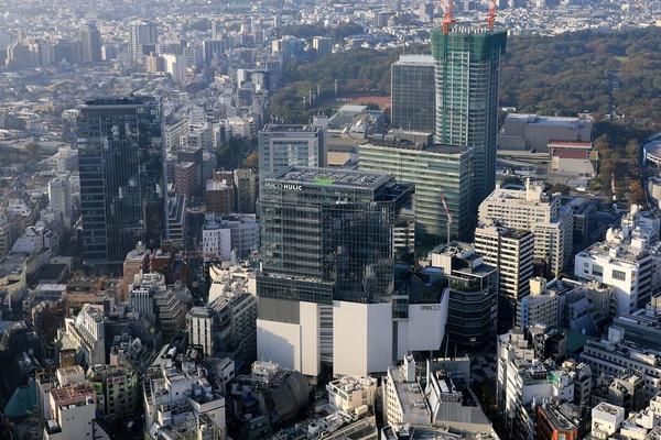 渋谷スカイから見た渋谷PARCO