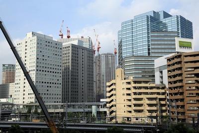 大崎の超高層ビル群