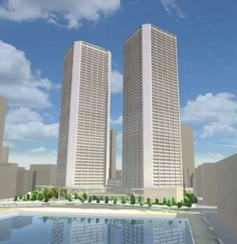 豊海地区第一種市街地再開発事業 イメージパース