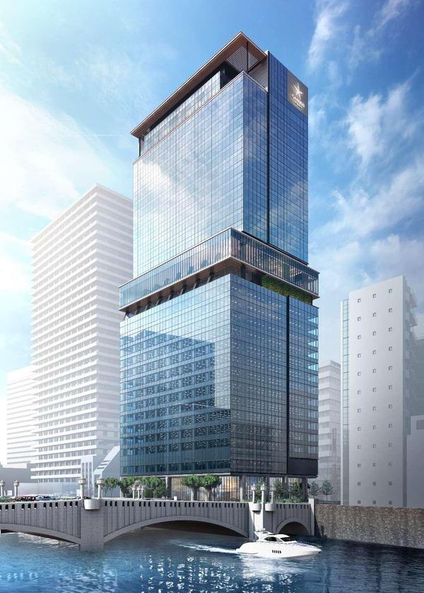 (仮称)大阪三菱ビル建替え計画 建物イメージ