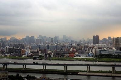 東京駅方面の眺め