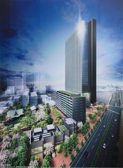 西新宿八丁目プロジェクト完成予想図