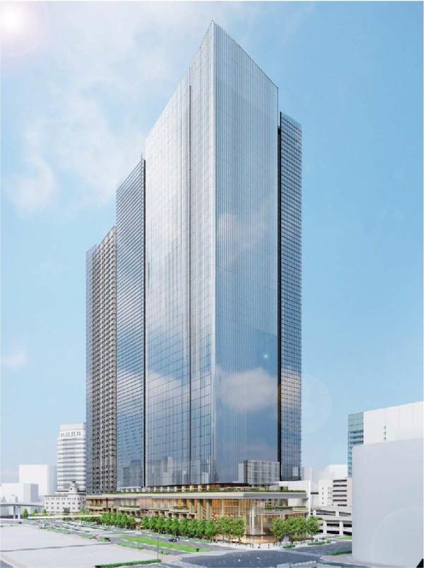 日本橋一丁目東地区第一種市街地再開発事業 イメージパース
