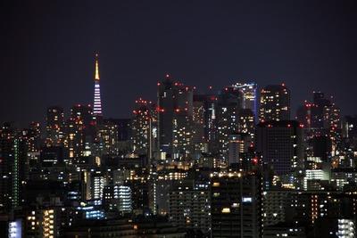 2011年最初の東京夜景