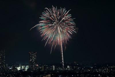 江戸川区花火大会・市川市民納涼花火大会
