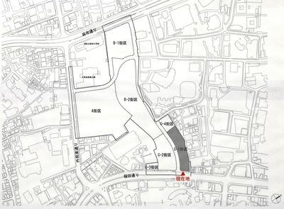 虎ノ門・麻布台地区市街地再開発事業 街区図