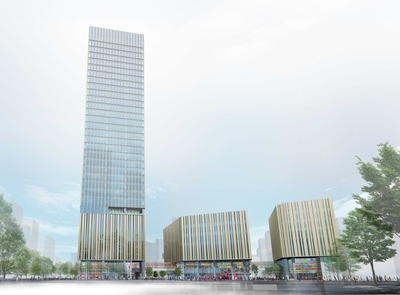 (仮称)豊島プロジェクト 建物外観イメージ