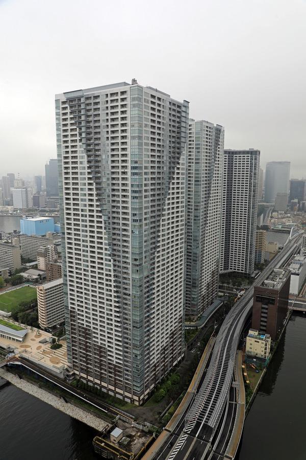 ドゥ・トゥールから見たTHE TOKYO TOWERS