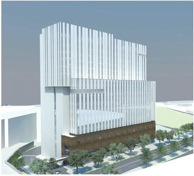 日本青年館・日本スポーツ振興センター本部棟 完成予想図