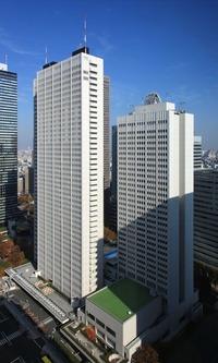 新宿NSビルから見た京王プラザホテル