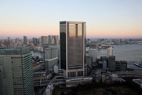 世界貿易センタービルから見た竹芝方面
