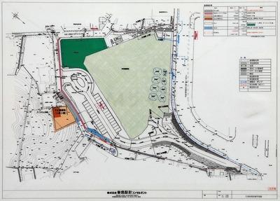 (仮称)熱海駅前計画の土地利用計画図