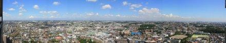 オルトヨコハマ ビュータワーからの眺め