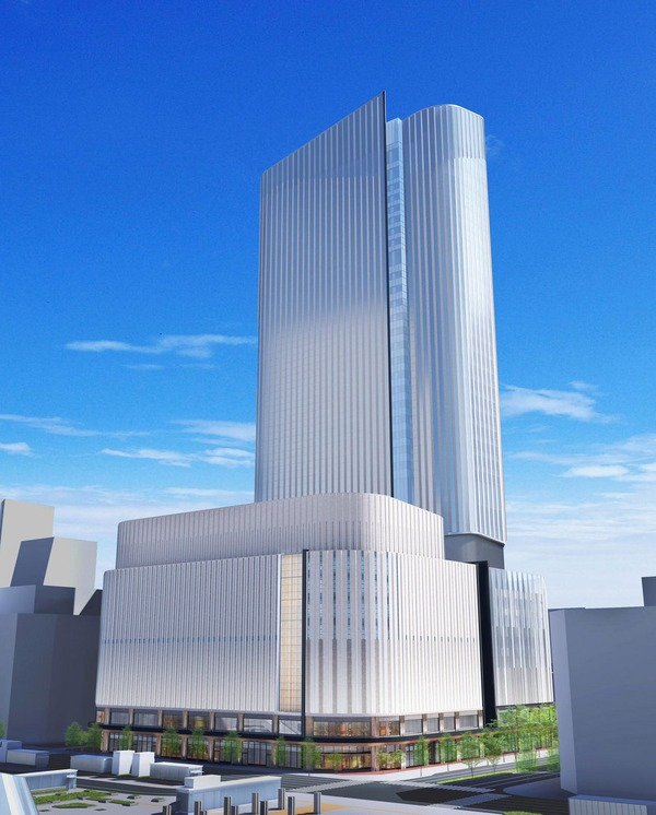 (仮称)札幌駅南口北4西3地区第一種市街地再開発事業 イメージパース
