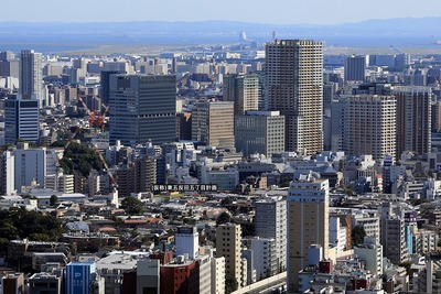恵比寿ガーデンプレイスタワーからの眺め