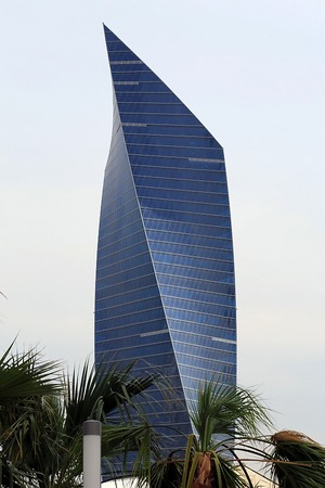 クウェートのアル・ティジャリア・タワー