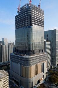 アパホテル<大阪肥後橋駅前>から見た中之島フェスティバルタワー