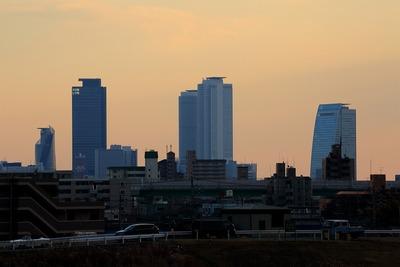名古屋駅方面の超高層ビル群