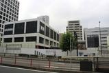 鹿島建設旧本社ビル 解体工事中