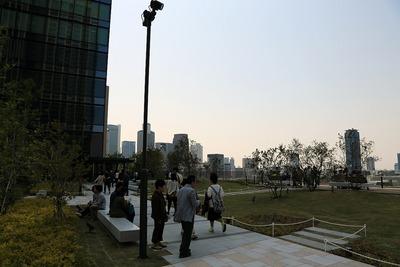 グランフロント大阪 北館のテラスガーデン