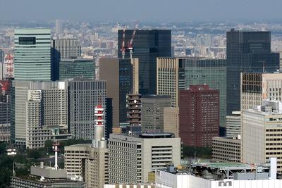 丸の内・大手町の超高層ビル群