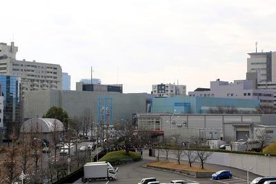 渋谷区庁舎と渋谷公会堂