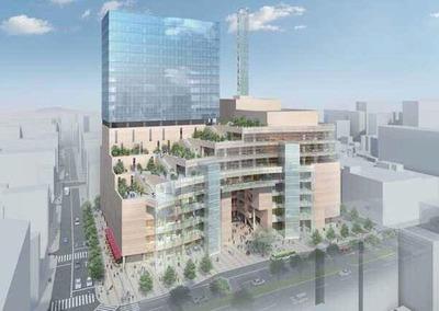 大宮駅東口大門町2丁目中地区市街地再開発事業 完成予想図