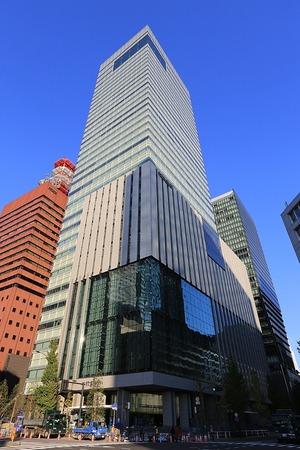 読売新聞東京本社ビル(2013年11月23日)