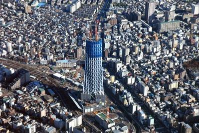 空撮 東京スカイツリー
