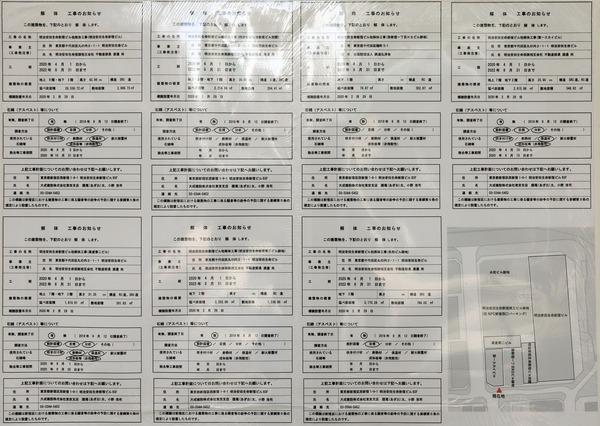 (仮称)西新宿一丁目地区プロジェクト 解体工事のお知らせ