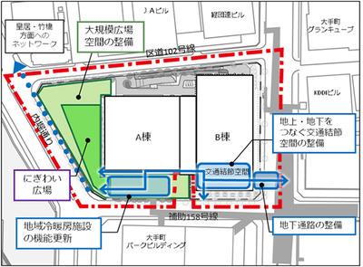 (仮称)OH-1計画の平面図