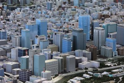 丸の内・大手町の模型